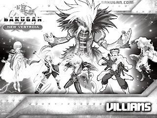 Bakugan Coloring Pictures