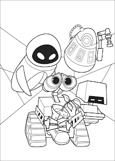 great walle coloring pages to print