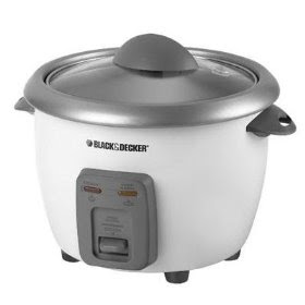 Black and Decker Rice Cooker 6 cup