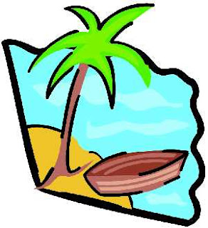 Fun Palm Tree clipart with a cartoonish look