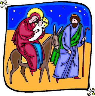 Christmas Nativity Clip Art Scene