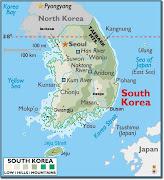 Map of Korea (map of korea )