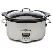 All-Clad 99009 6 1/2 Quart Stainless Steel Slow Cooker