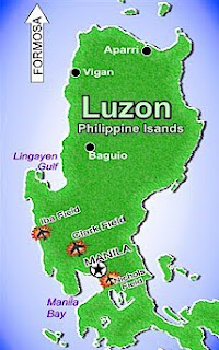 Maps of Luzon, Philippines