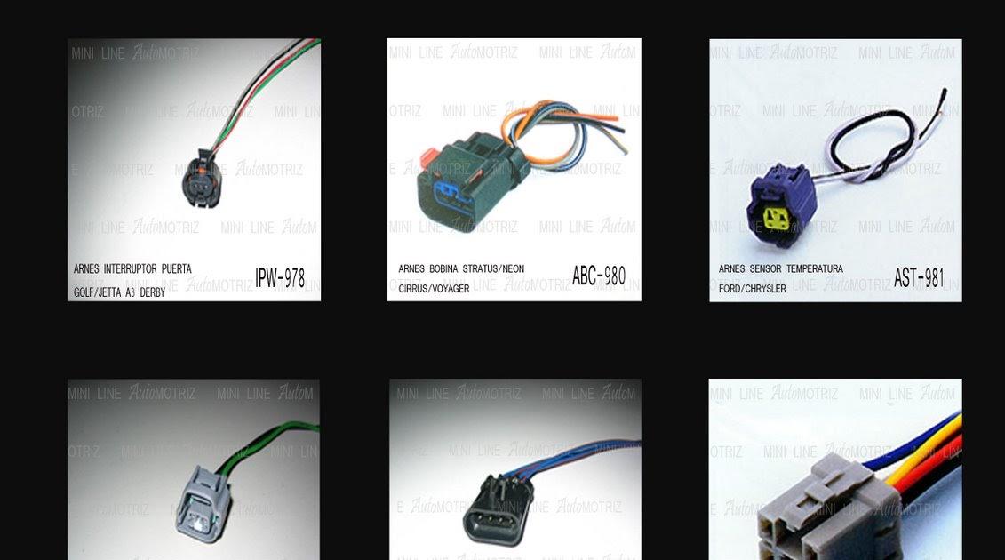 ARNESES Y CONECTORES AUTOMOTRICES: CATALOGO ARNESES MLA: 014