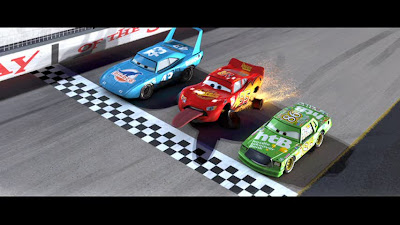 Gif Race Car Loses Tire