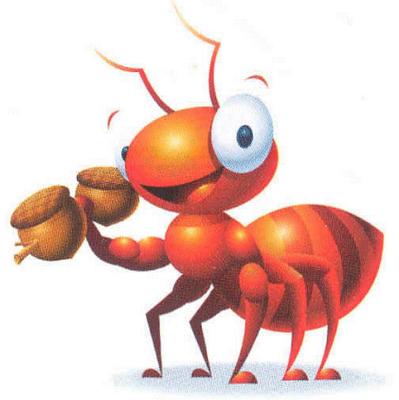 maur bærer sin egen vekt
