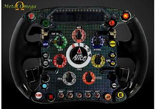 Volante Nova Ferrari F1 2009