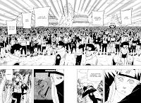 Leia o Naruto Mangá 450 - A Alegria da Vila Online Parte 2
