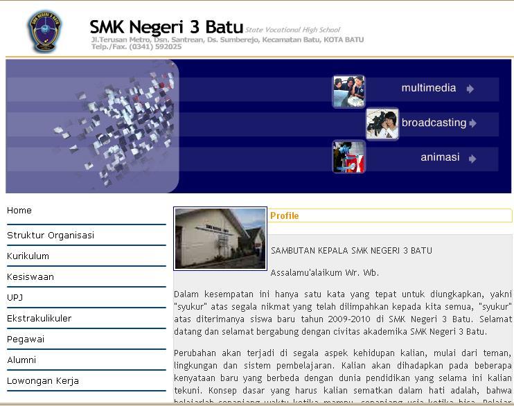 SMK Negeri 03 Kota Batu | Hafid Junaidi