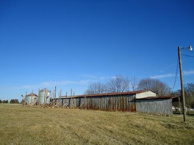 The Barn Project Pole Barn Addition Half Way Done
