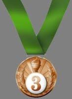 конкурс 3 место медаль