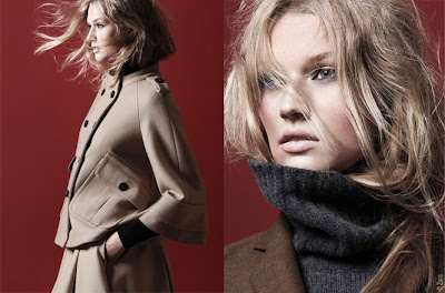 Femme Fashion 2011 on D  Fil  S Fashion Shopping  Zara Femme Hiver 2010 2011 Campagne
