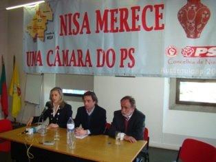 Cabeças de Lista à Câmara e Assembleia Municipal de Nisa em 2009
