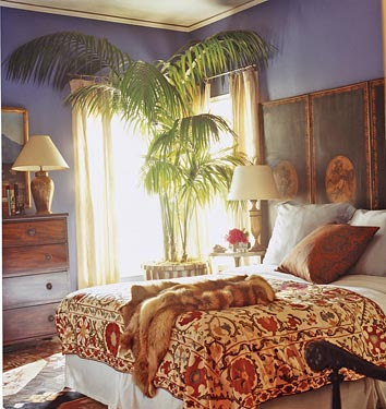 eclectic and exotic bedrooms decorology