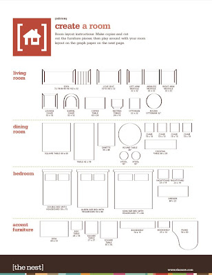 Playful image regarding printable furniture template