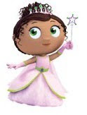 Princess Presto - Super Why - African American Kids TV Characters