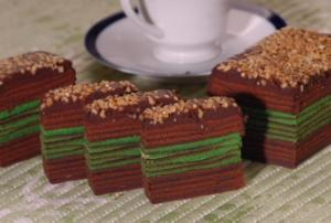 Kek beraneka jenis dan kek lapis sarawak