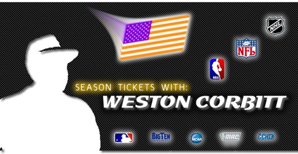 Season Tickets With Weston Corbitt