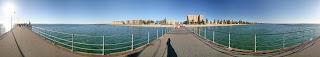 Glenelg Beach Panorama Image