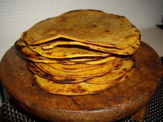 rotis roti pain indien farine de pois chiche