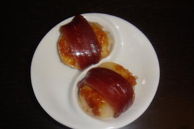 recette saint jacques magret de canard