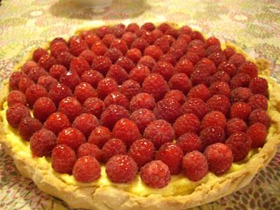 Laduree tartes recettes framboises passion