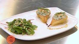 Poire, Entrées, Masterchef, Baïa, roquefort, fromage