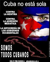 CUBA NO ESTAS SOLA