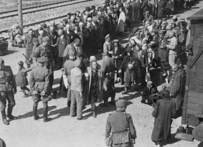 Auschwitz Selection, May / June 1944, of Hungarian Jews.