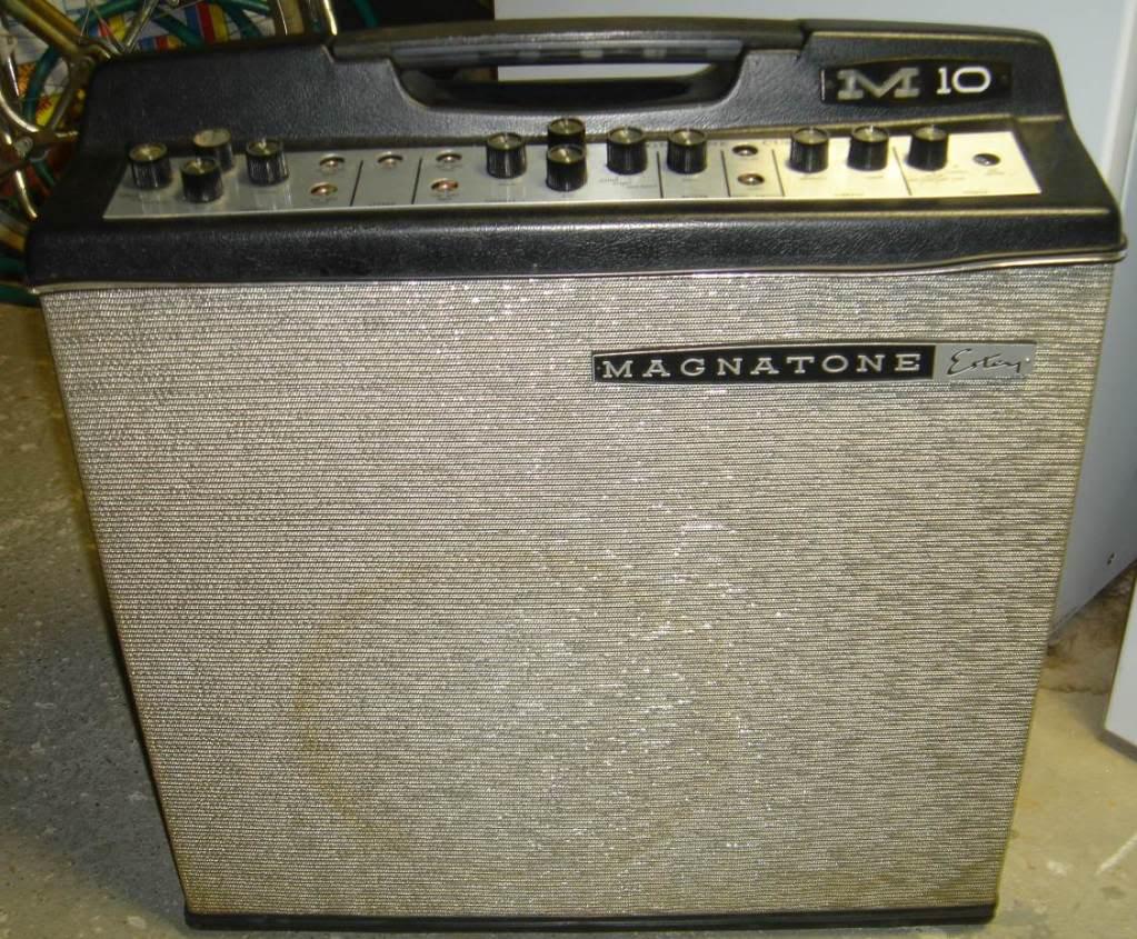 Craigslist Vintage Guitar Hunt April 2010 Comet Epiphone Amplifier Schematic Magnatone M10 Tube Combo 797