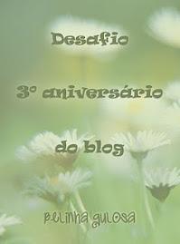 Selinho desafio - aniver Blog da Belinha - 14 de junho!