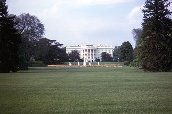The White House - view from the mall