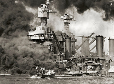 After effects of the Japanese bombing of Pearl Harbor
