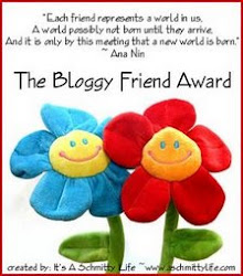 The Bloggy Friends Award