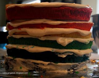 IMG 3802 Rainbow Cake