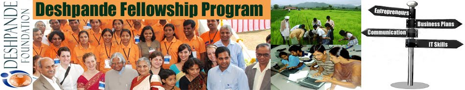 Deshpande Fellowship Program