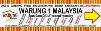 WarunG 1 MalaysiA