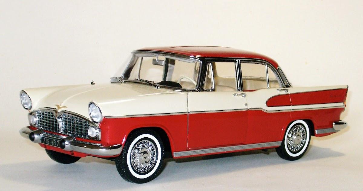 retromobile em 1 18  simca chambord -- 1958