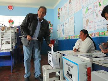 SECRETARIO NACIONAL DEL PARTIDO APRISTA PERUANO