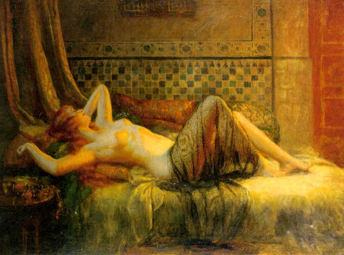 Another Girl Same Manner. Another reclining nude by the French academic ...