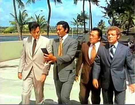 The funniest thing was seeing Jack Lord always wearing a suit with ...