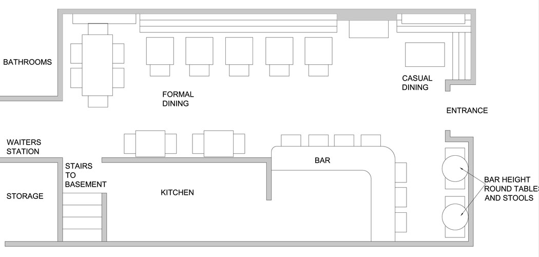 Small Restaurant Kitchen Floor Plan small restaurant kitchen | home design ideas pertaining to small