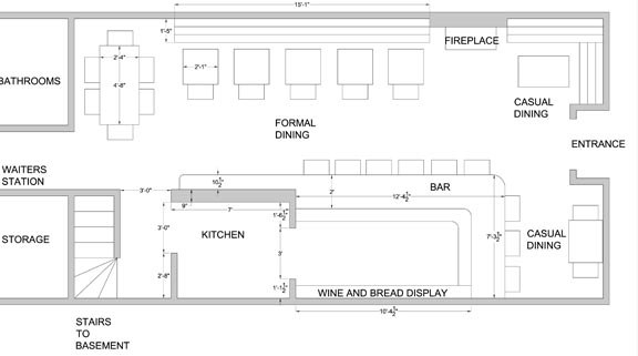 Floor plan small restaurant joy studio design gallery - Small restaurant floor plan design ...