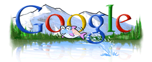 Google 2004 Earth Day Logo