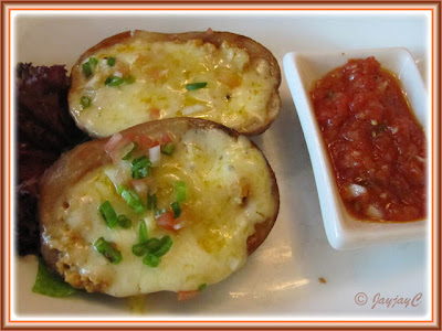 Mexican Potato Skins at Carlos Mexican Canteena, Pavilion KL