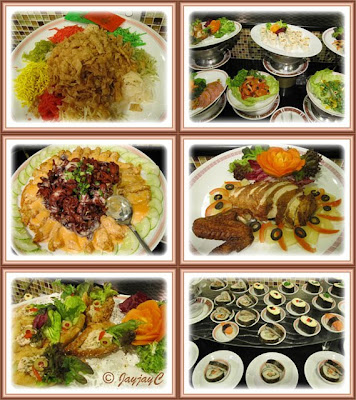 CNY 2010 high-tea at Benting Coffee House, Quality Hotel: various sumptuous food fare