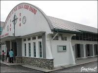Side view of the Church of St. Paul the Apostle, at Kuala Kubu Baru, Ulu Selangor, Selangor
