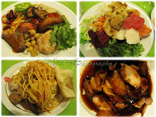 Buffet dinner at Coffee Terrace, Genting Hotel, Genting Highlands