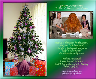 2010 Christmas greeting card